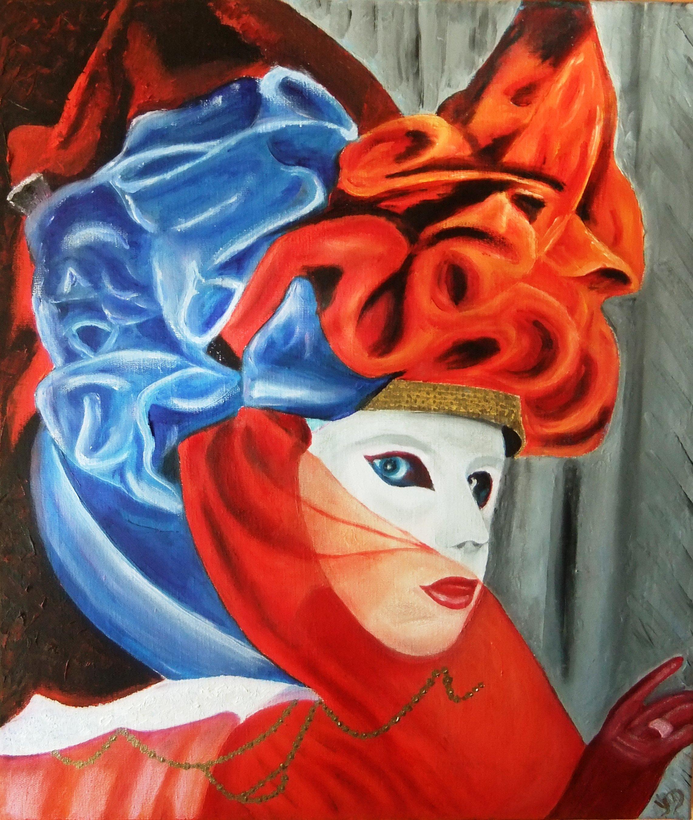 Yvon delvoye galerie de peintures - Masque a peinture ...